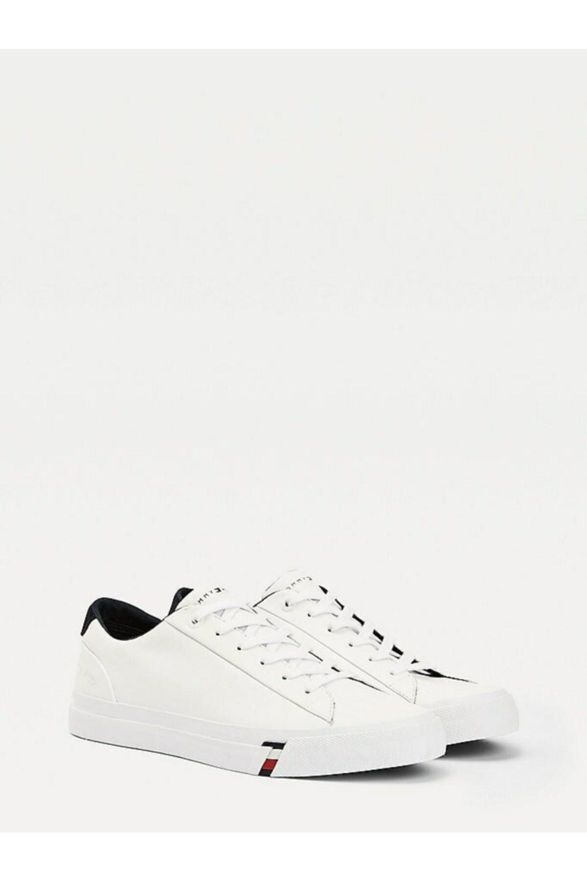 Tommy Hilfiger Corporate Deri Sneaker 1
