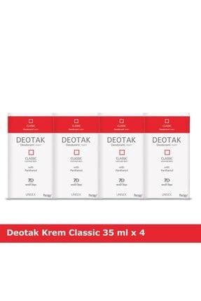 Deotak Krem Deodorant Classic X 4