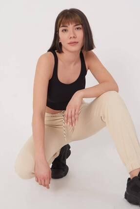Addax Kadın Taş Paçası Lastikli Eşofman Eşf0630 - C7Z4 Adx-0000017572