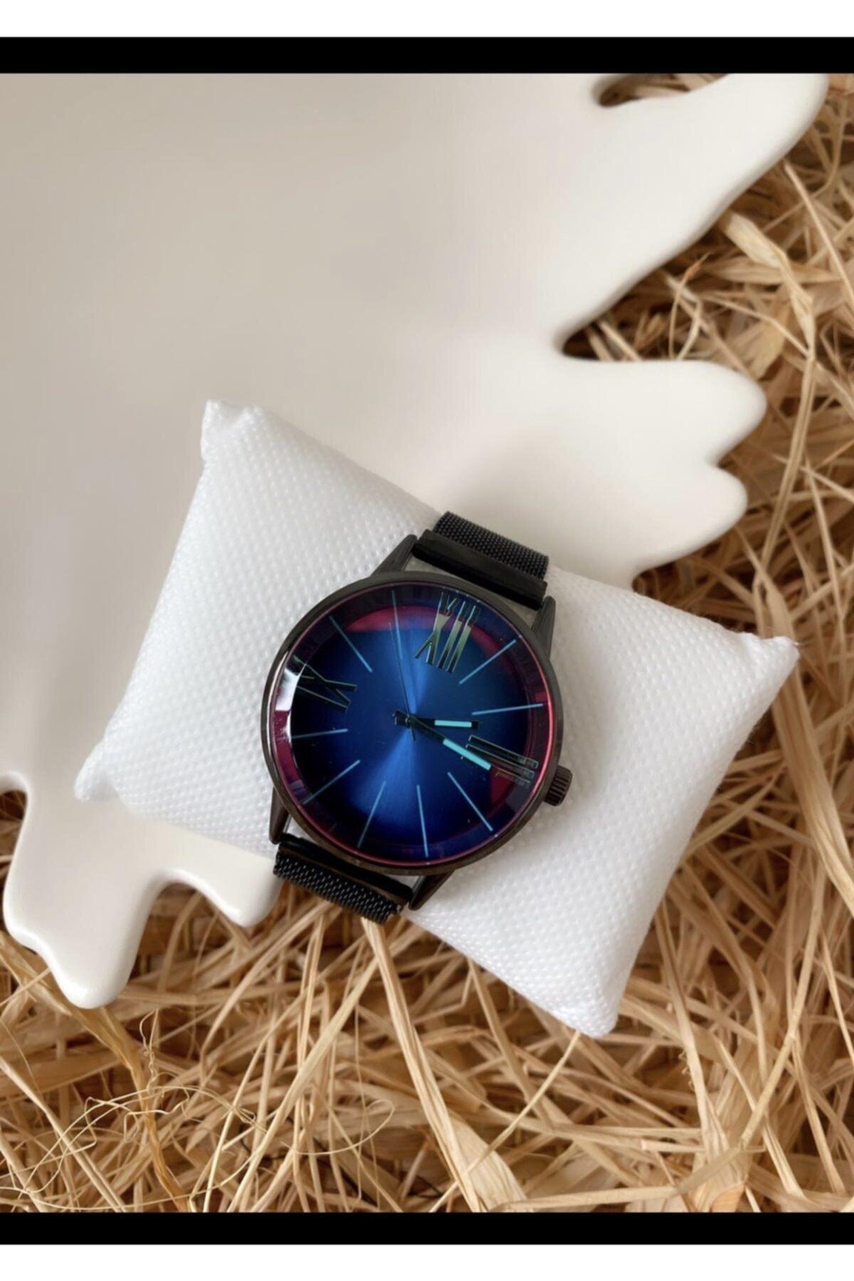 SPEKTRUM BAİTS Bay & Bayan Çelik Renkli Ekran Model Kol Saati 1