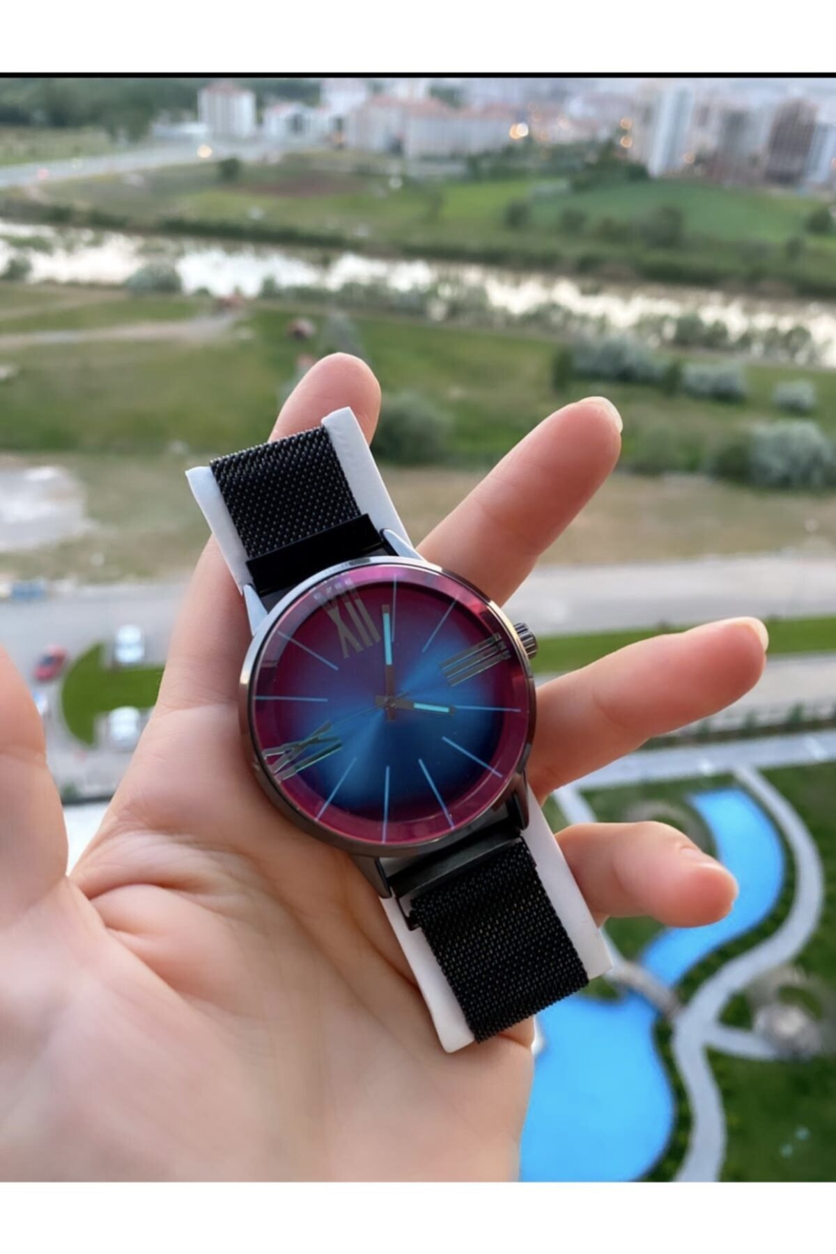 SPEKTRUM BAİTS Bay & Bayan Çelik Renkli Ekran Model Kol Saati 2