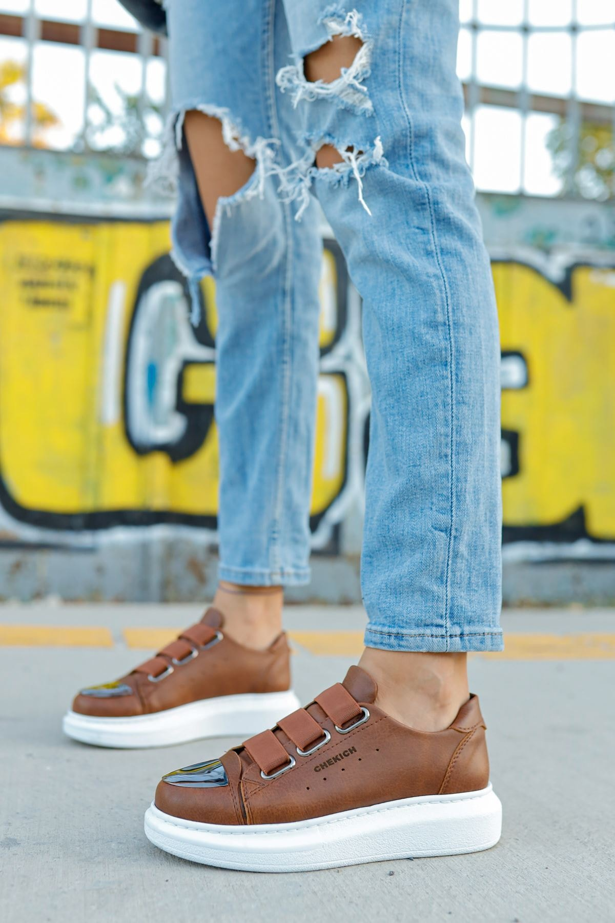 Chekich Ch251 Bt Kadın Ayakkabı Taba 2