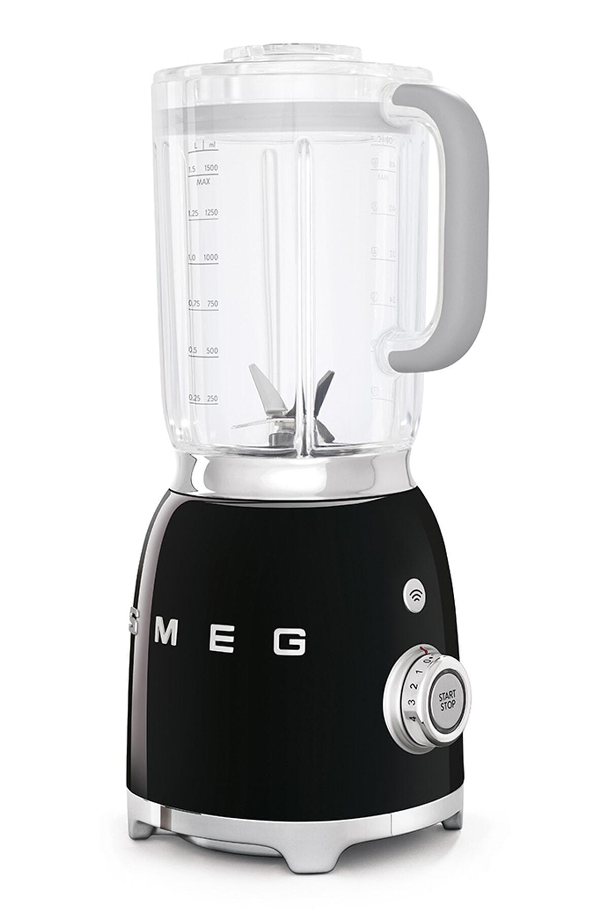 SMEG Siyah 50's Retro Style Blender Blf01bleu 1