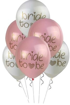 Partifabrik Bride To Be Pastel Balon 5 Li