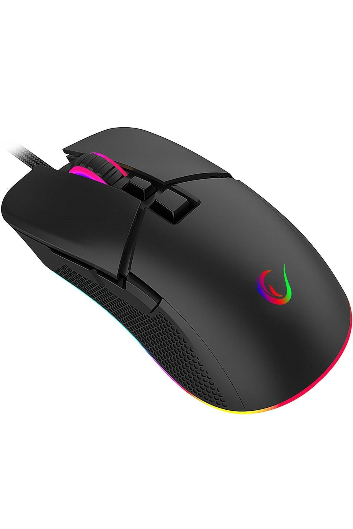 Everest Rampage Everest Sgm-05 X-racer 7d Rgb 6400dpi Optik Gaming Oyuncu Mouse Sgm-05 2