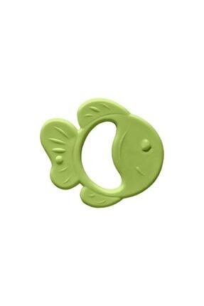 Bambino Kauçuk Yumuşak Diş Kaşıyıcı Yeşil Balık