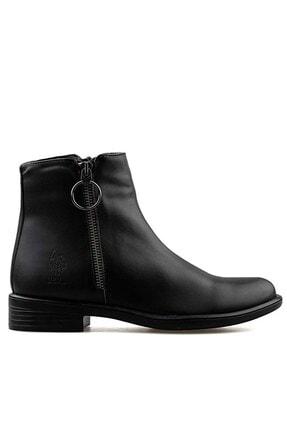 U.S POLO Us Polo Idella Kadın Bot Ayakkabı 100551377-siyah