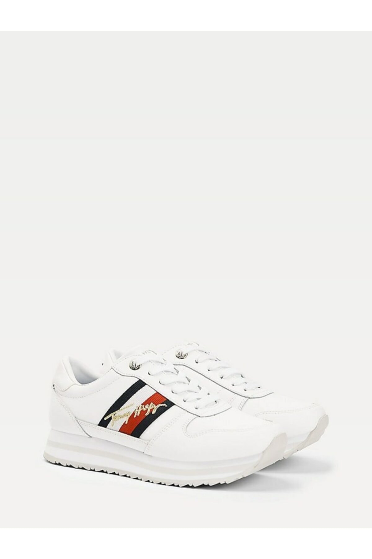 Tommy Hilfiger Th Sıgnature Runner Sneaker 1