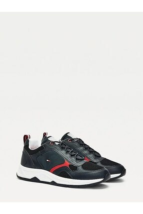 Tommy Hilfiger Erkek Th Fashion Mix Sneaker