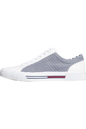 Tommy Hilfiger Erkek Th Tekstil Sneaker