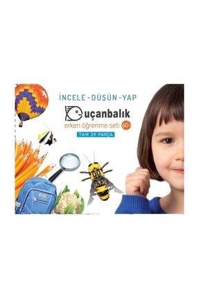 Tudem Yayınları Yayınları Uçanbalık Erken Öğrenme Seti 60+ (Kutu)