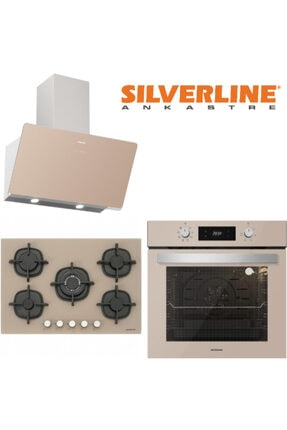 Silverline Vizon Cam Ankastre Set (Cs5364m01-bo6504m01-3457 Soho)