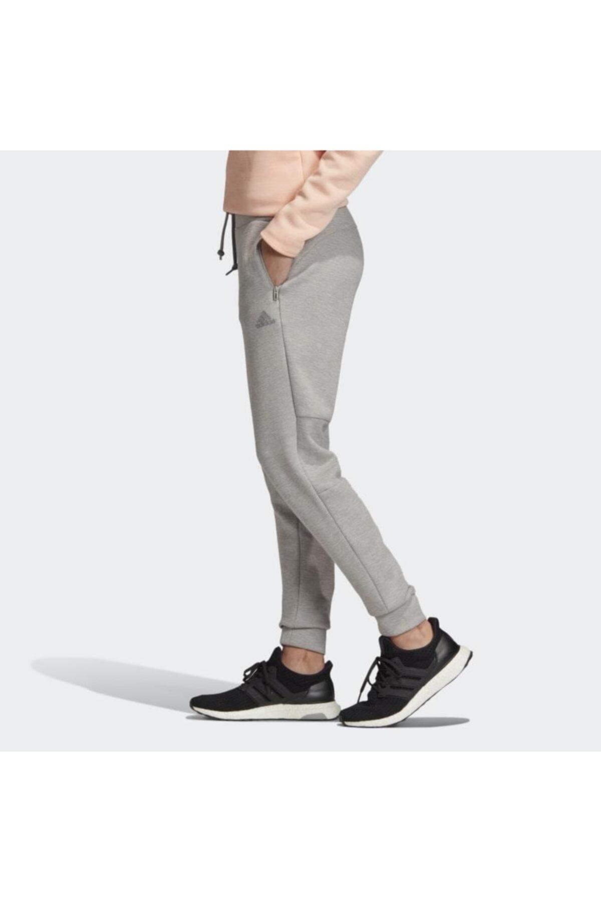 adidas Kadın Günlük Eşofman Altı Fı4096 Gri W Id Melang Pnt 2