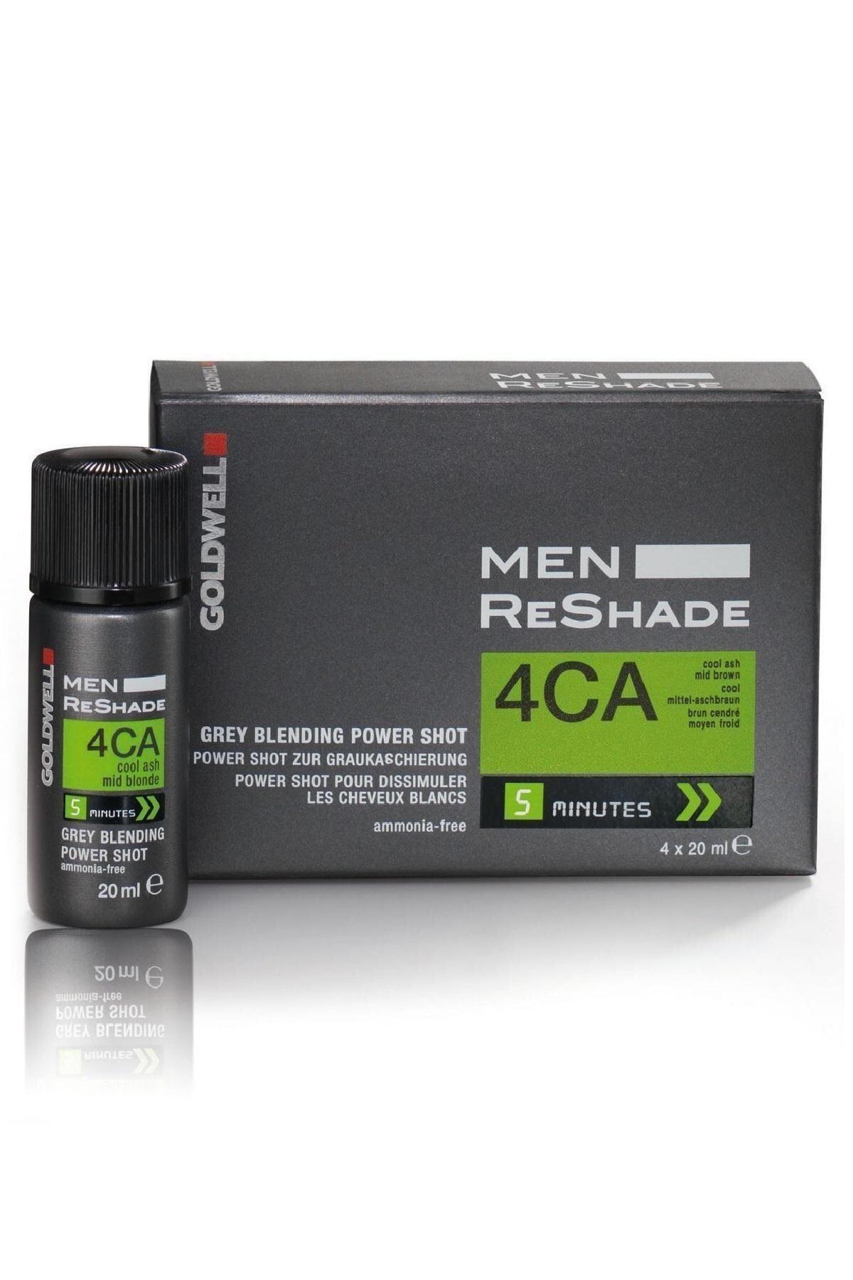 GOLDWELL 4ca Men Reshade Erkek Saç Boyası 4x20 ml 1