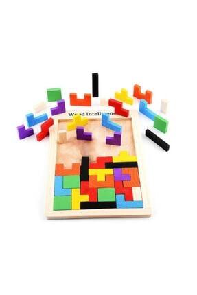 Pramigo Ahşap Tetris Blok