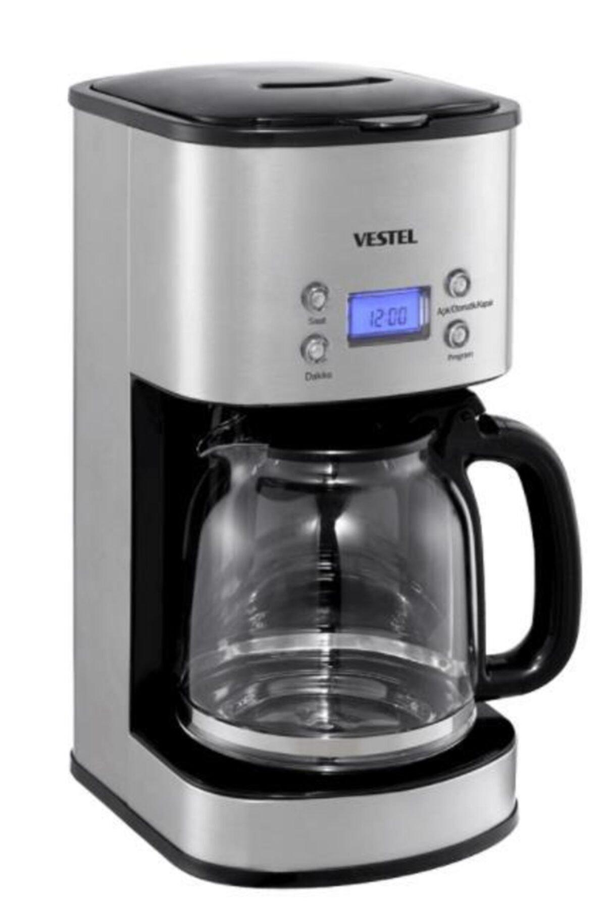 Vestel Sefa K3000 Inox Filtre Kahve Makinesi 1