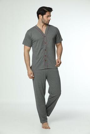 Oksit Gls 5 Düğmeli Erkek Pijama Takımı