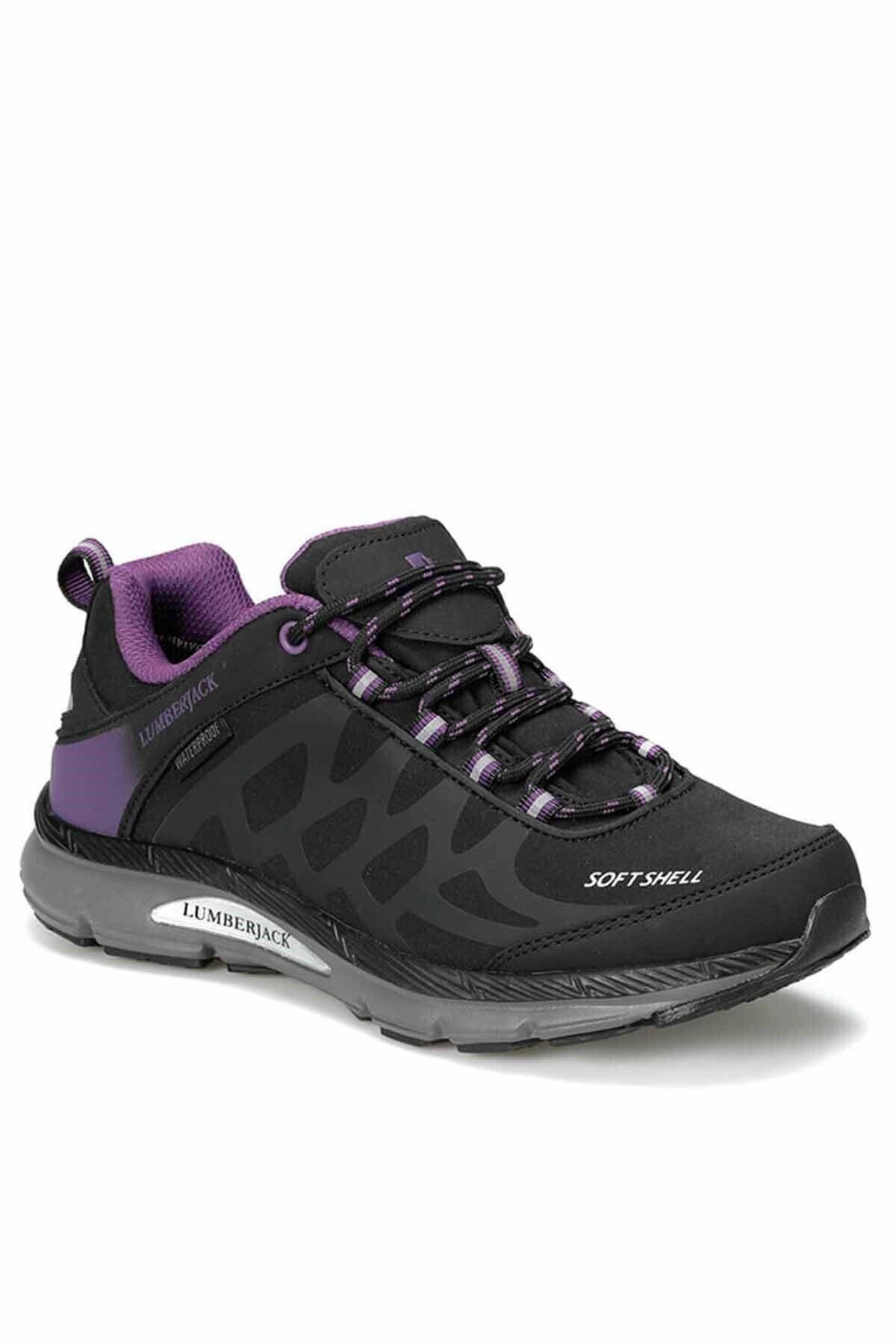 lumberjack Siyah Mor Kadın Outdoor Ayakkabı 1