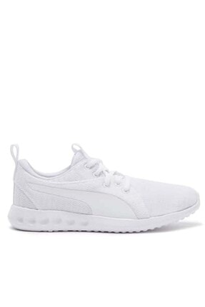 Puma Carson 2 Jr Kadın Günlük Spor Ayakkabı 190072 05-beyaz