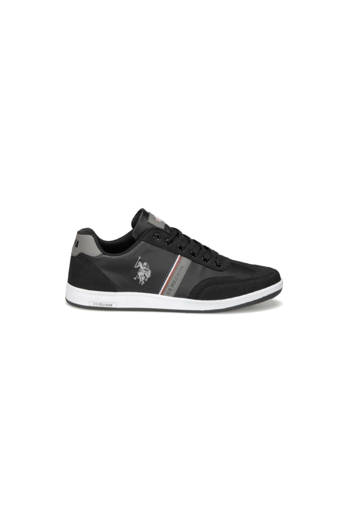 U.S. Polo Assn. KARES WT 9PR Siyah Erkek Sneaker Ayakkabı 100417978 2