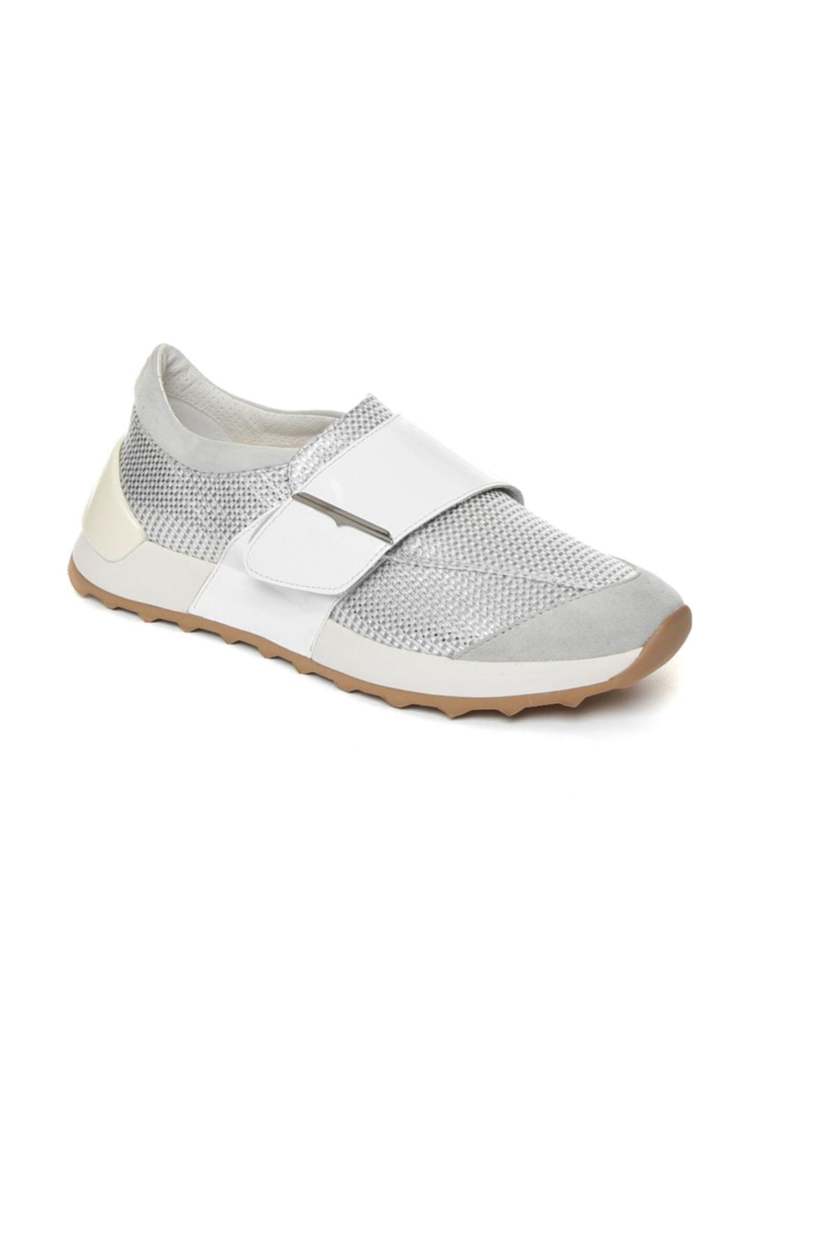 ALBERTO GUARDIANI Kadın Gümüş Renk Casual Ayakkabı 1