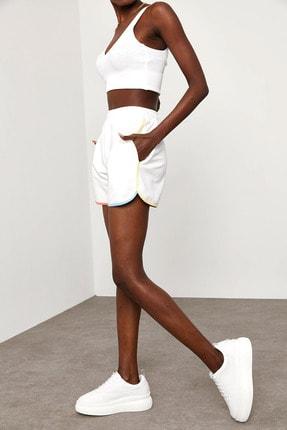 XENA Kadın Beyaz Renkli Biyeli Şort 1KZK8-11544-01