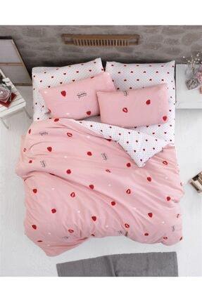 The Fabric Sweet Strawberry Tek Kişilik Nevresim Takımı