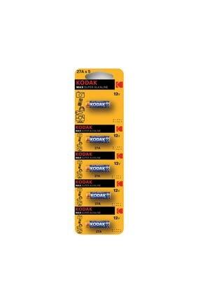 Kodak 27a-5 12 Volt Ultra Alkaline Kumanda Pili Pakette 5 Adet Bulunur