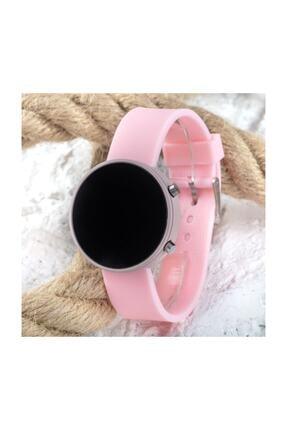 Spectrum Toz Pembe Renk Led Watch Dijital Yetişkin Kız Çocuk Silikon Kol Saati St-303560