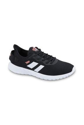 Jump - 24853 - Günlük Rahat Fileli Kullanışlı Ortapedik Spor Ayakkabı - Siyah - 39