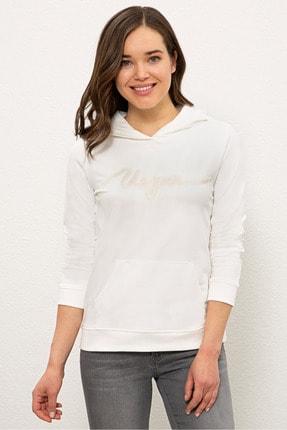 U.S. Polo Assn. Ekru Kadın Sweatshirt G082SZ082.000.1238545
