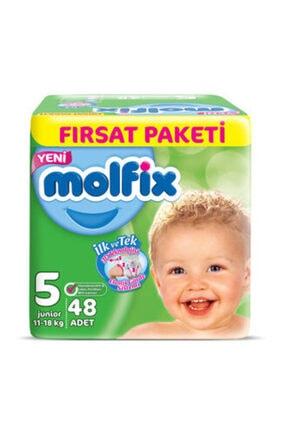 Molfix Bebek Bezi Junior 48'li 5 Numara