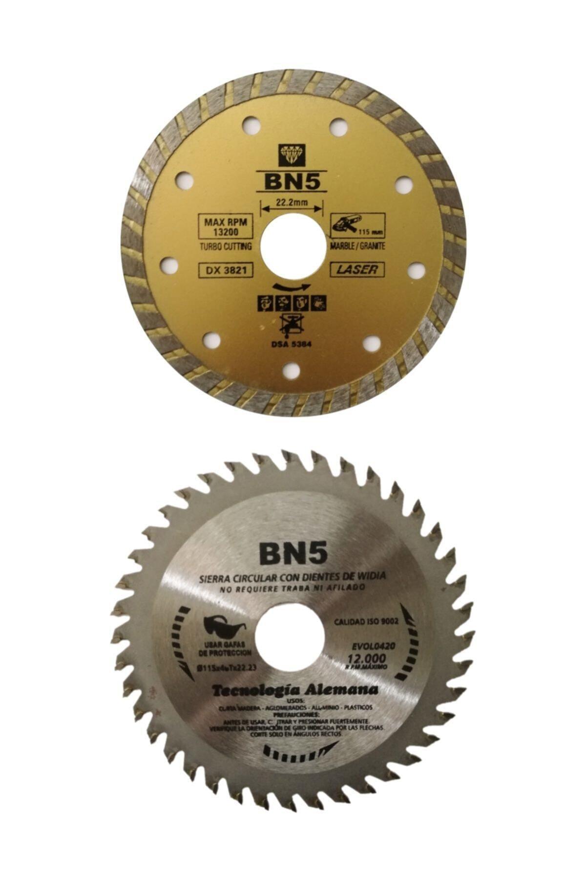 BN5 Ahşap Kesici Mermer Fayans Kesme 115 Mm Disk Seti Spiral Taşlama Kesici Diskleri 1