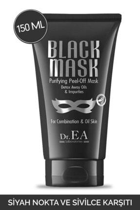 Dr. EA Laboratories Soyulabilir Siyah Maske Siyah Nokta ve Sivilce Karşıtı 150 ml