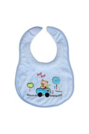 Sevi Bebe Ağız Salgı Önlüğü Art-50 Arabalı