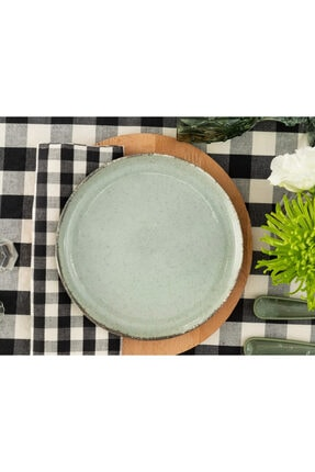 Madame Coco Clara 4'lü Pasta Tabağı Seti - Yeşil