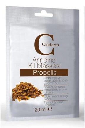 Claderm Kil Maskesi 20 ml Sachet – Propolis