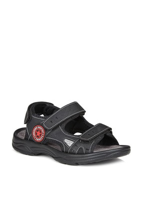 Vicco Delta Erkek Çocuk Siyah Sandalet