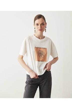 İpekyol Çiçek Baskılı Tişört