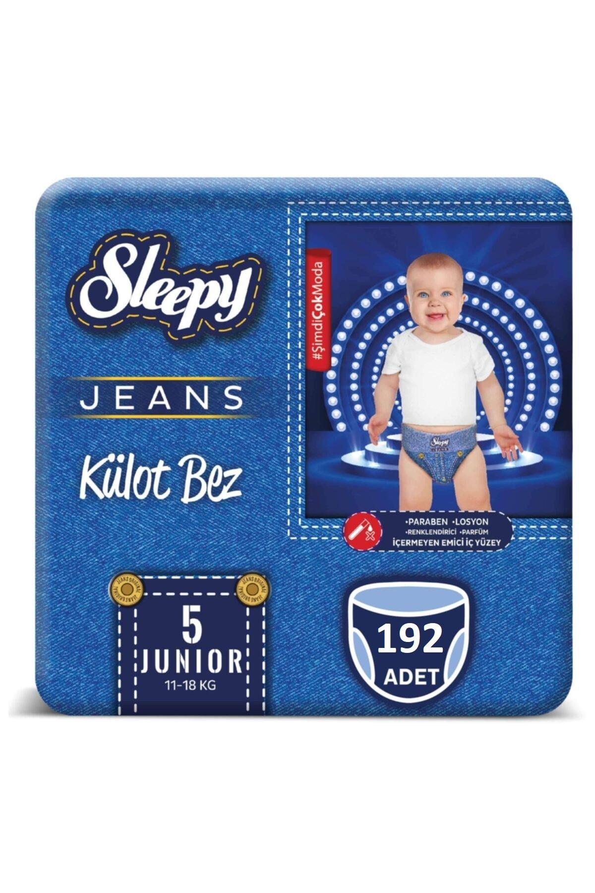 Sleepy Jeans Külot Bez 5 Beden Numara 192 Adet 11-18 Kg 1