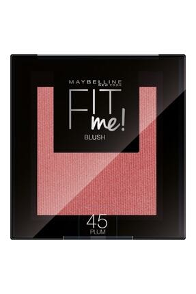 Maybelline New York Pembe Allık Fit Me Blush 45 Plum 36005315373999