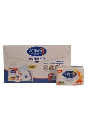 Activex Hijyen Kiti Alana Aktif 4x80 Katı Sabun Hediye