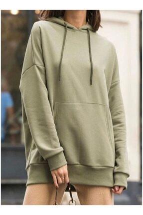 Nidasstore Kadın Kapüşonlu Sweatshirt 131