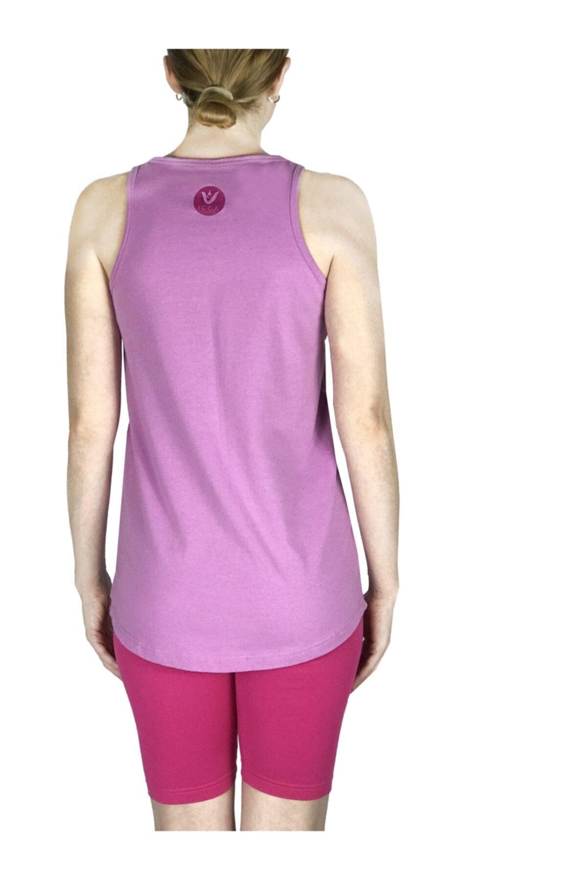 Vei Yoga T Shirt Yoga Pamuklu Breath 2