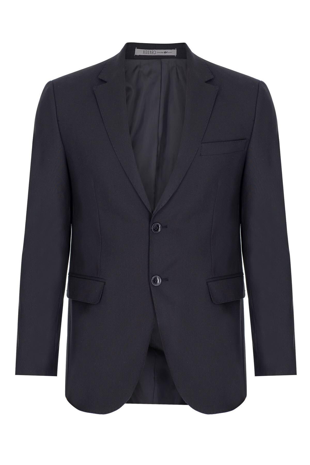 İgs Erkek K.lacivert Regularfıt / Rahat Kalıp Std Takım Elbise 2
