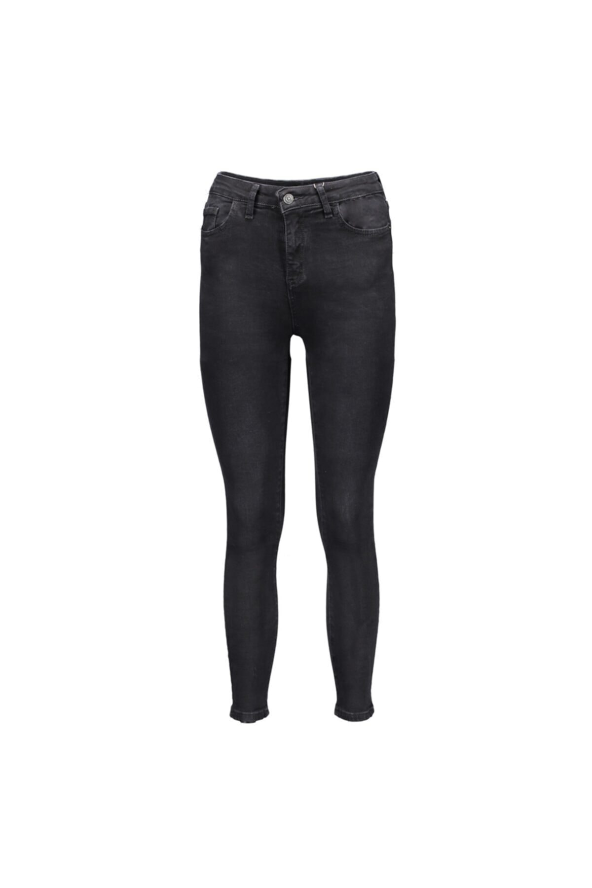 Collezione Siyah Kadın Denim Pantolon 1