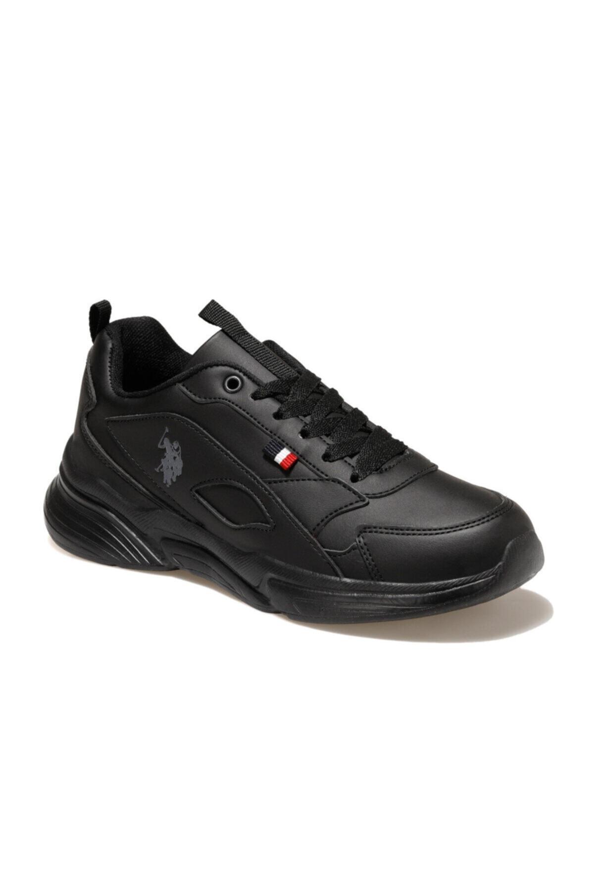 U.S. Polo Assn. LEMON Siyah Kadın Sneaker Ayakkabı 100549061 1
