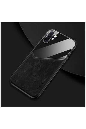 Dara Aksesuar Samsung Galaxy Note 10 Plus Kılıf Zebana New Fashion Deri Kılıf Siyah
