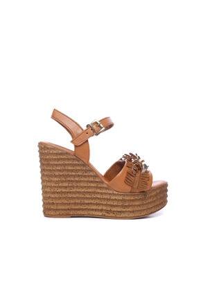 KEMAL TANCA Kadın Derı Sandalet Sandalet 169 51454 Bn Sndlt