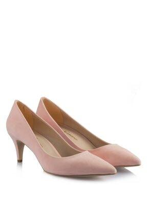 37Numara 41-42-43-44 Numara Kadın Ayakkabısı Pudra Rengi Stiletto